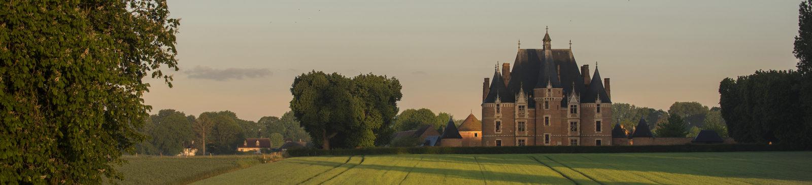 Vue du château de Martainville