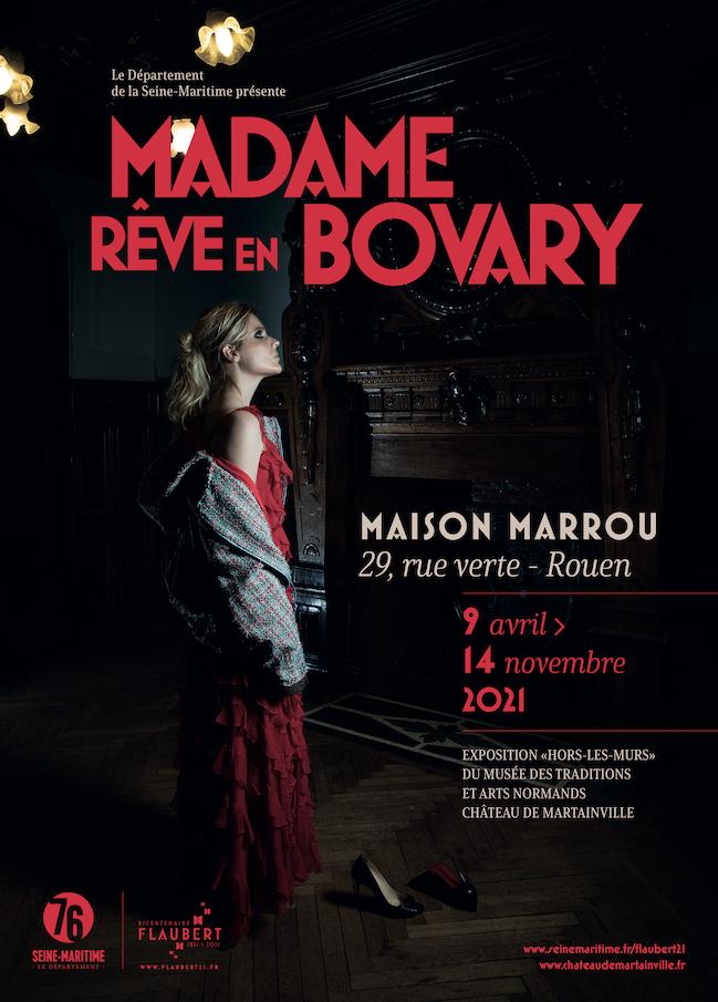 Affiche de Madame rêve en Bovary