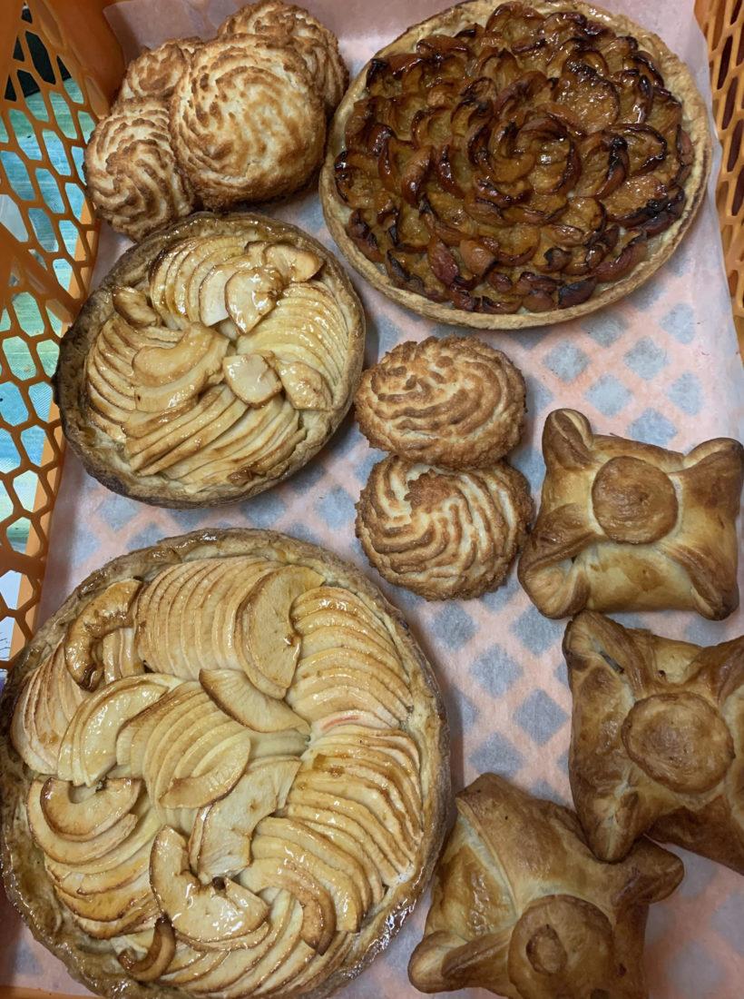 Pepe biscuitier, assortiment de tartes