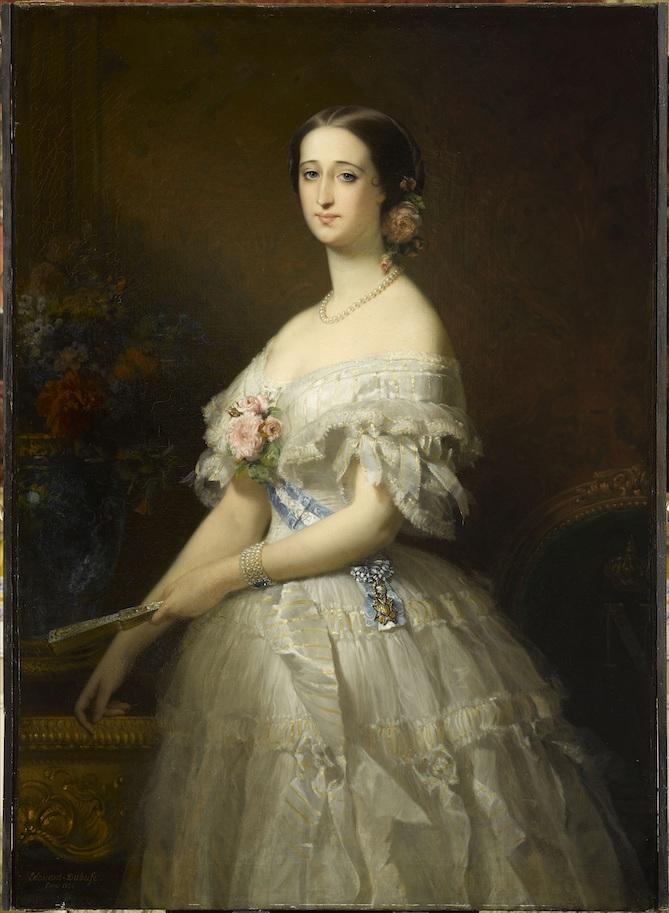 L'impératrice Eugénie, par Edouard-Louis Dubufe