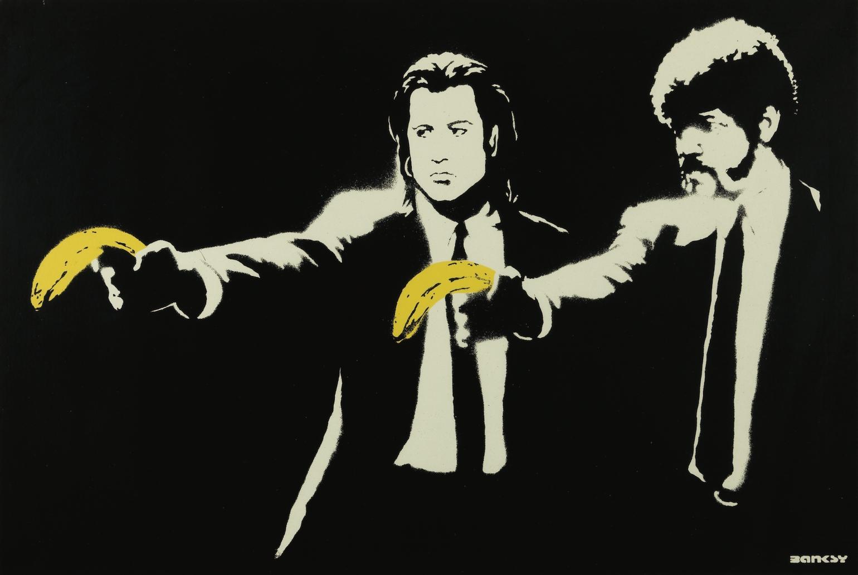 Pulp Fiction, 2002, Banksy