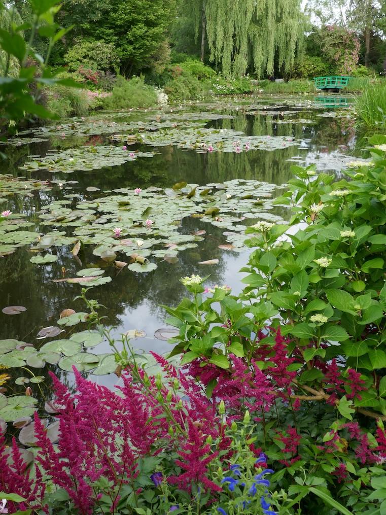 etang au jardin de Claude Monet à Giverny