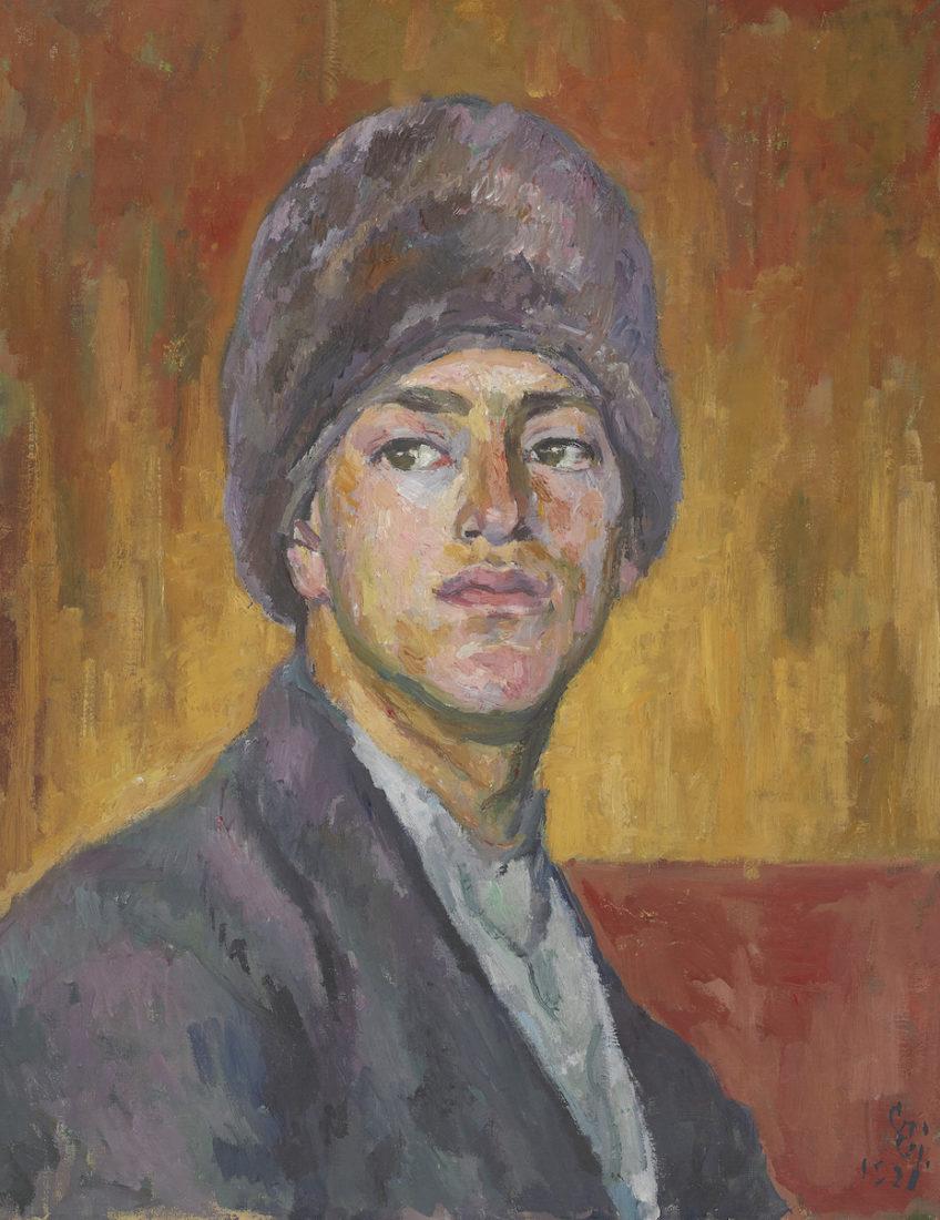 Giovanni Giacometti : Portrait d'Alberto