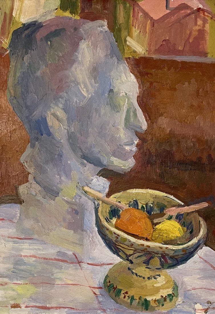 Giovanni Giacometti . Tête d'Alberto