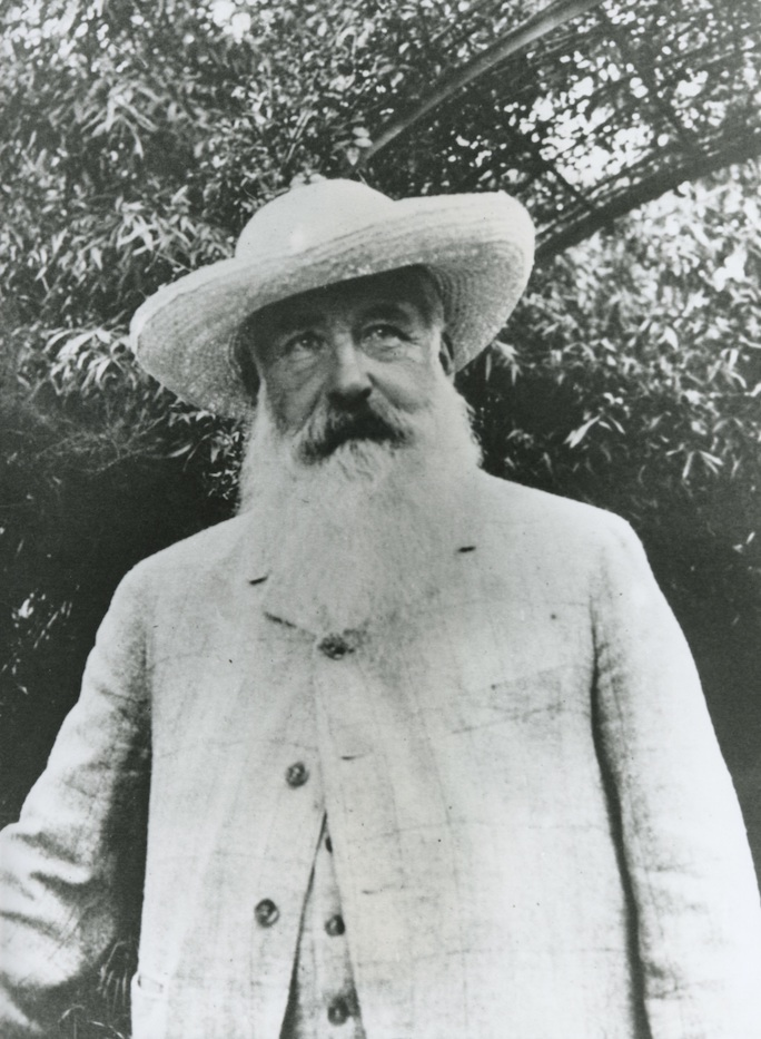 Claude Monet dans son jardin par Sacha Guitry 1913