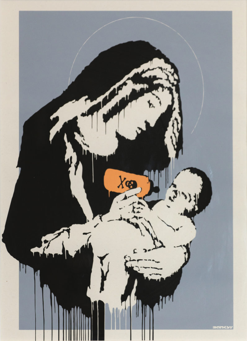 Virgin Mary, Banksy
