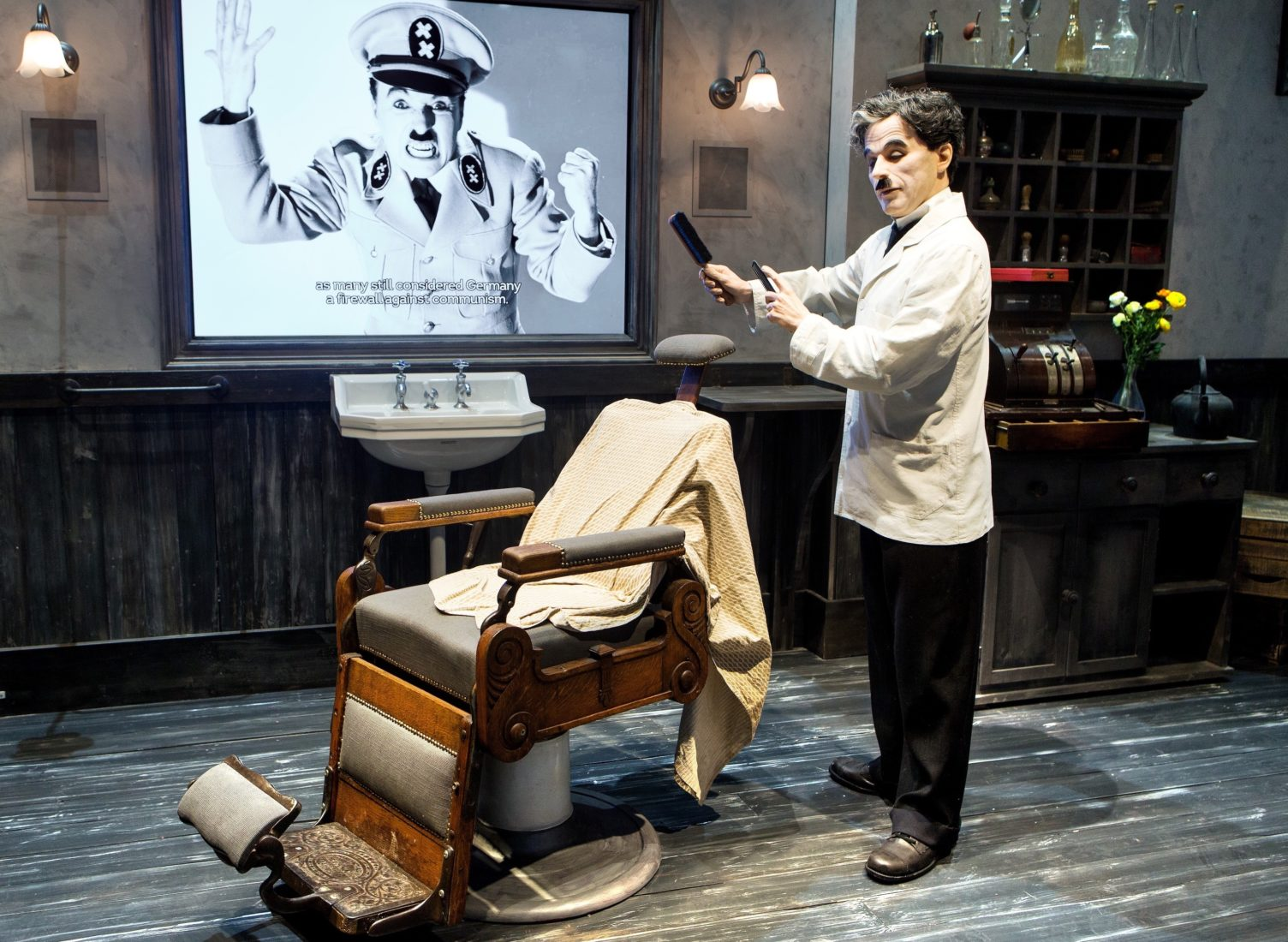 Vevey musée Charlie Chaplin Le Barbier
