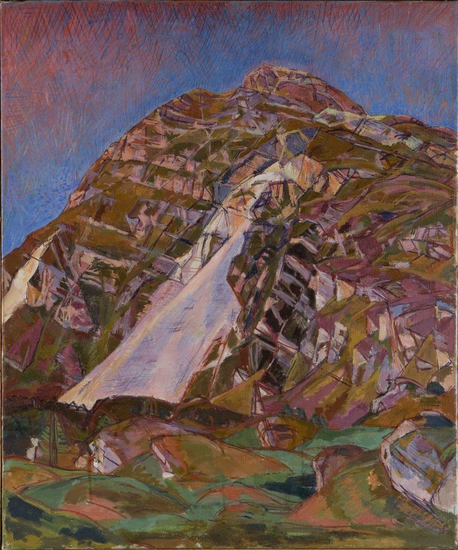 Alberto Giacometti : La montagne (Lunghin)