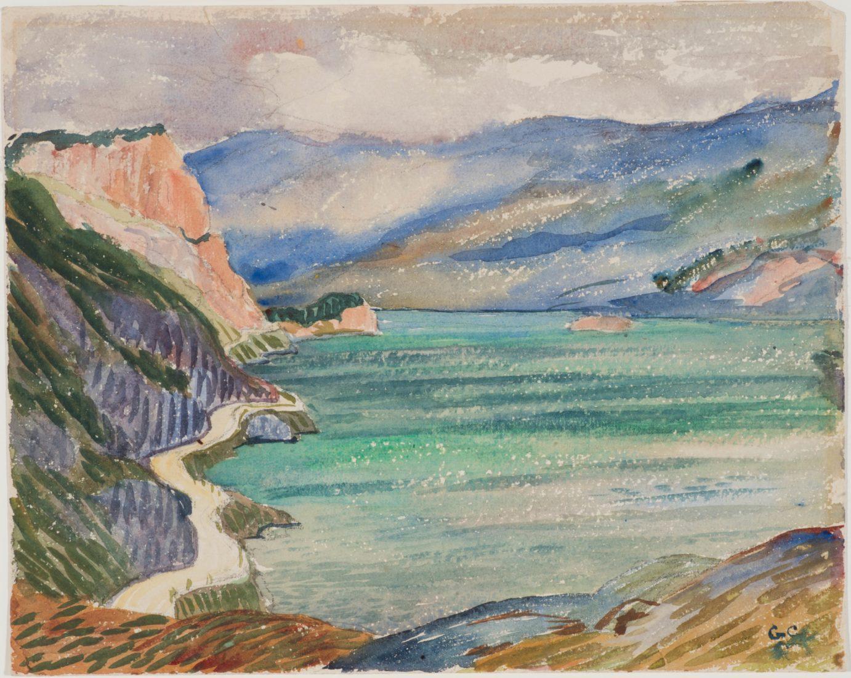 Giovanni Giacometti : Lac de Sils