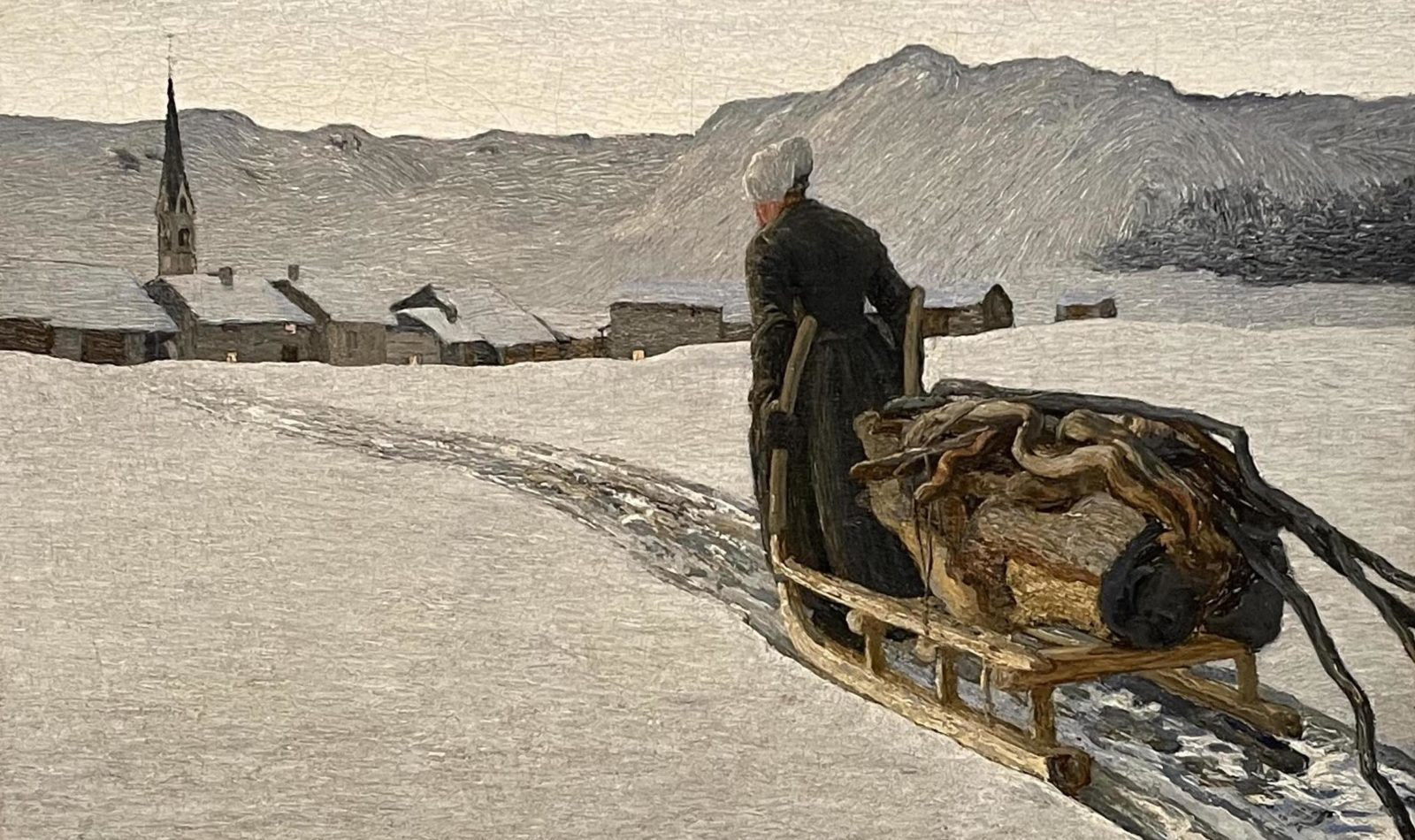 Giovanni Segantini : Retour de la forêt
