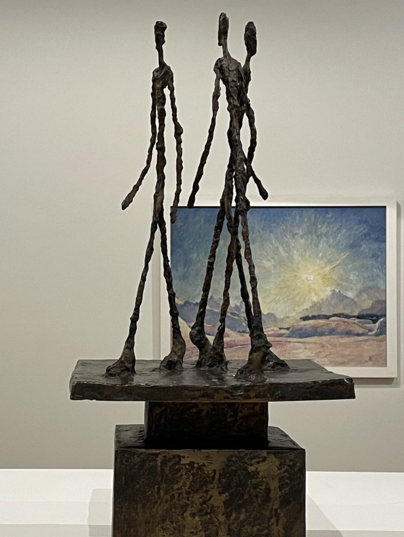 Alberto Giacometti : Trois hommes qui marchent