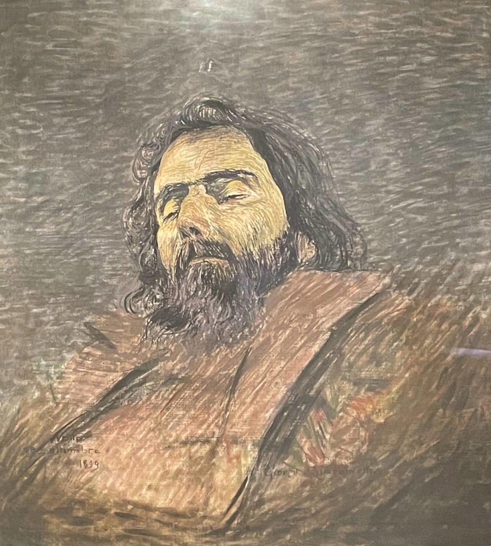 Giovanni Giacometti : Giovanni Segantini sur son lit de mort