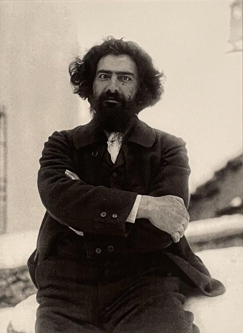 Paul Badrutt. Photographie de Giovanni Segantini,