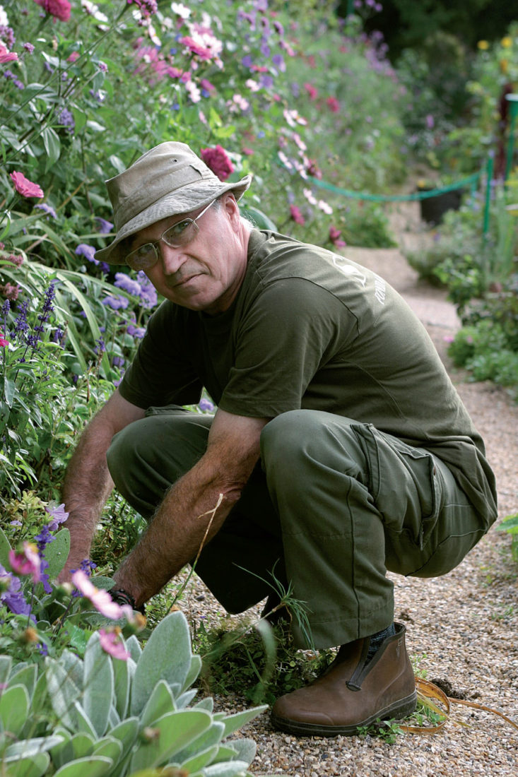 Gilbert Vahé jardinier Giverny