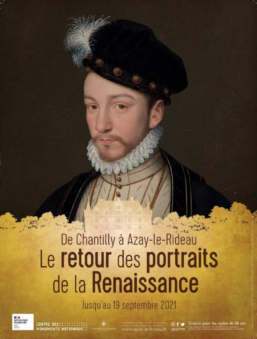 Affiche Le retour des portraits de la renaissance