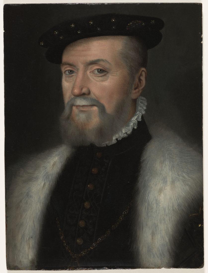D'après François Clouet, Portrait d'Anne de Montnorency,