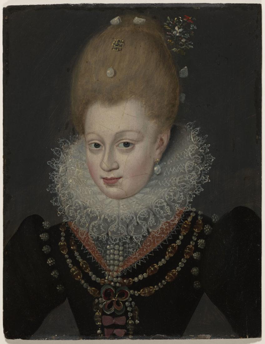 D'après François Quesnel, Portrait d'Henriette de Balsac d'Entragues, marquise de Verneuil,