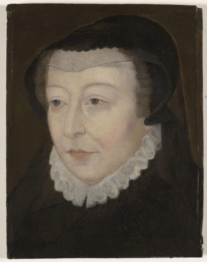 D'après François Clouet, Portrait de Catherine de Médicis
