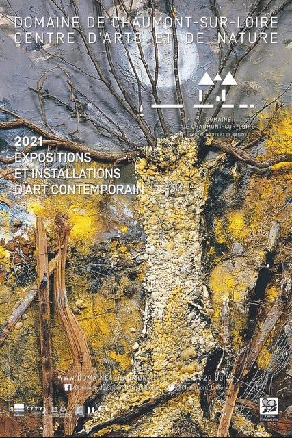 Domaine de Chaumont sur Loire Affiche exposition 2021