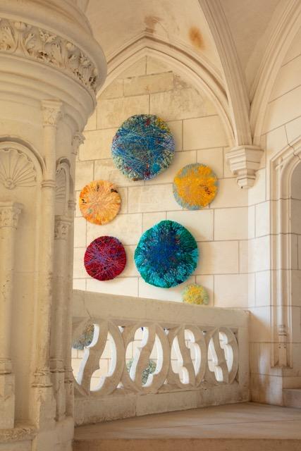 Escalier d'honneur du château – Sheila Hick Chaumont sur Loire