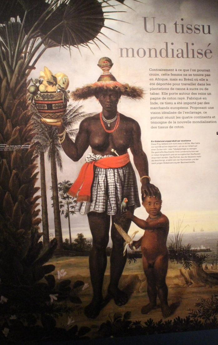 Château de Prangins exposition Indiennes femme déportée au Brésil