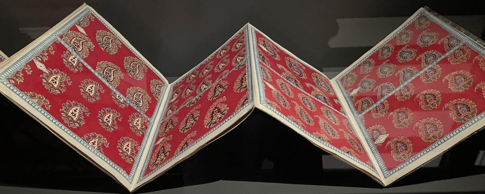 Château de Prangins Indiennes Album d'échantillons Glaris