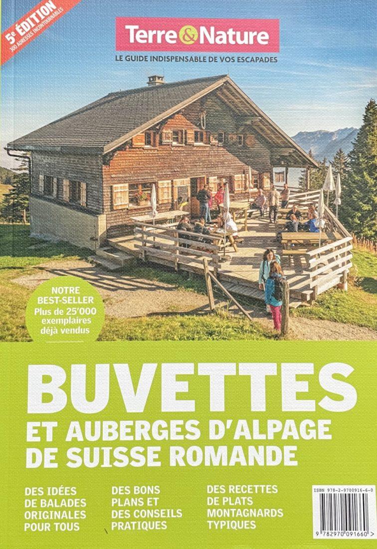 Buvettes et auberges Suisse romande 5ème édition