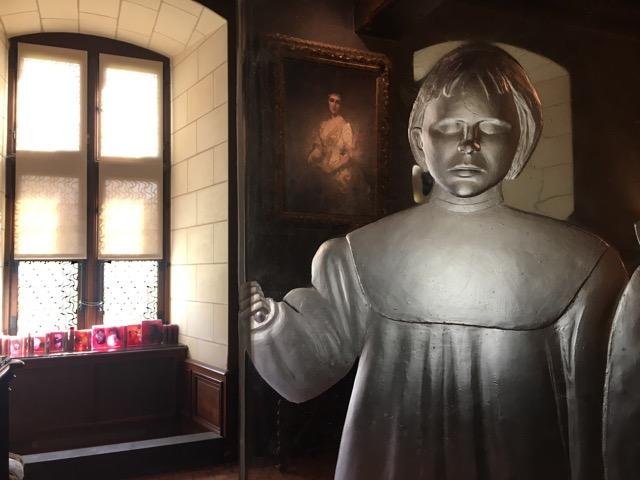 Chaumont sur Loire Les trois anges, Pascal Convert