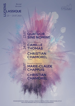 Affiche Festival Lucens classique 2021