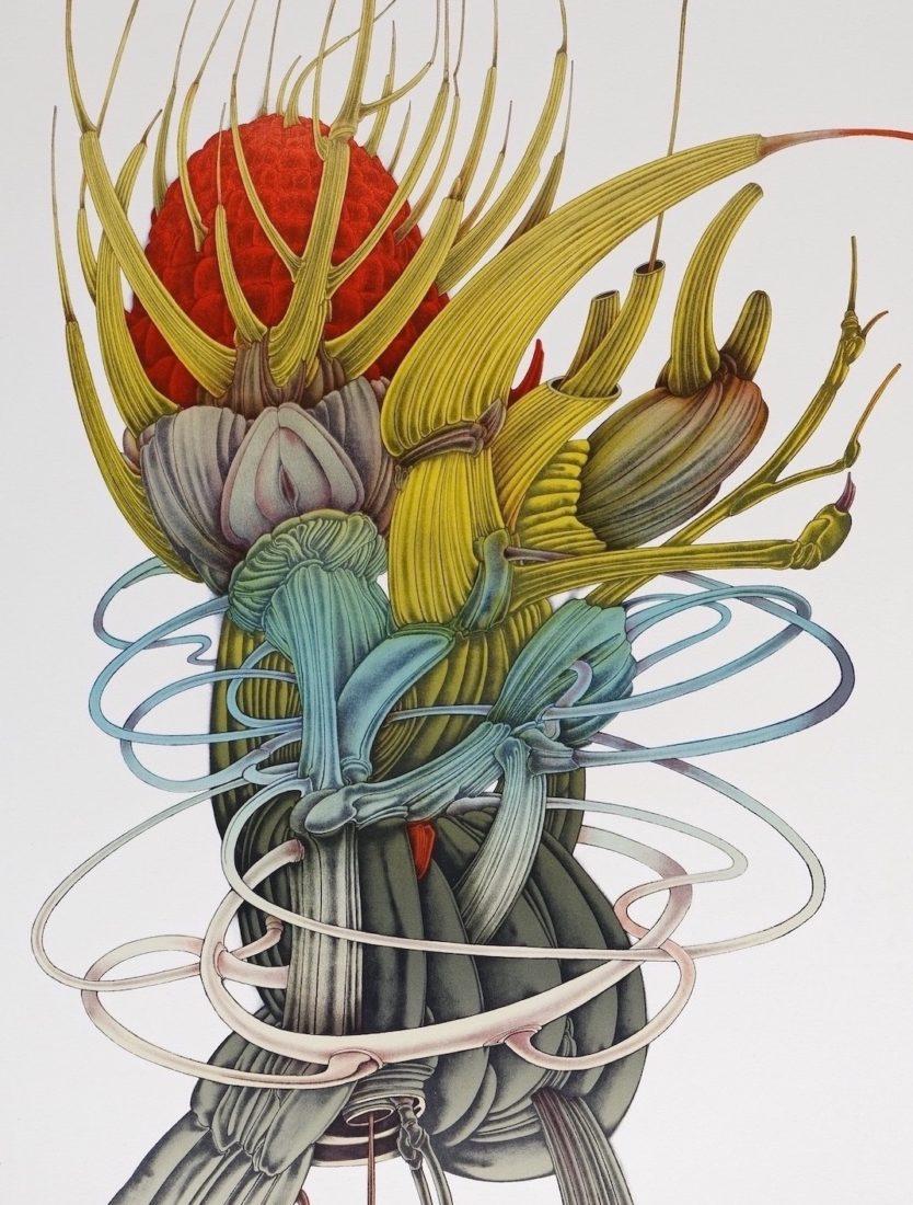 Alain Le Foll. Fleur d'Afrique, 1973.