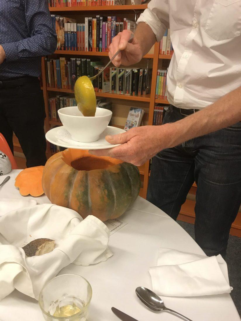 Lausanne à Table 2019 soupe potiron
