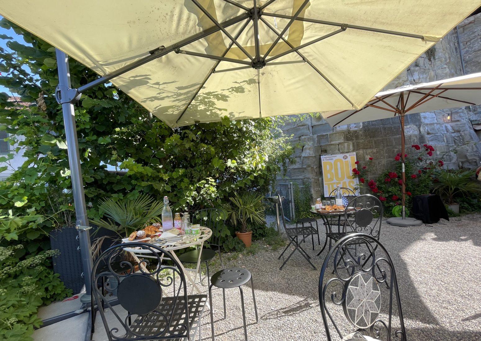 Lausanne à Table 2021 conférence de presse Jardins de lausanne