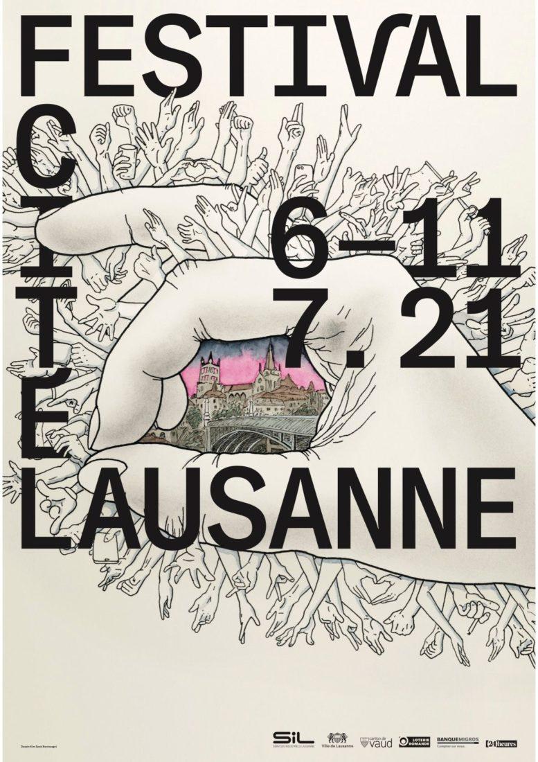 affiche du Festival cité Lausanne 2021