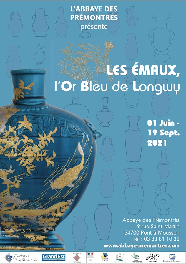 Longwy - affiche exposition Emaux