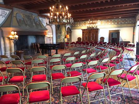 Château de Lucens VD Salle de concerts