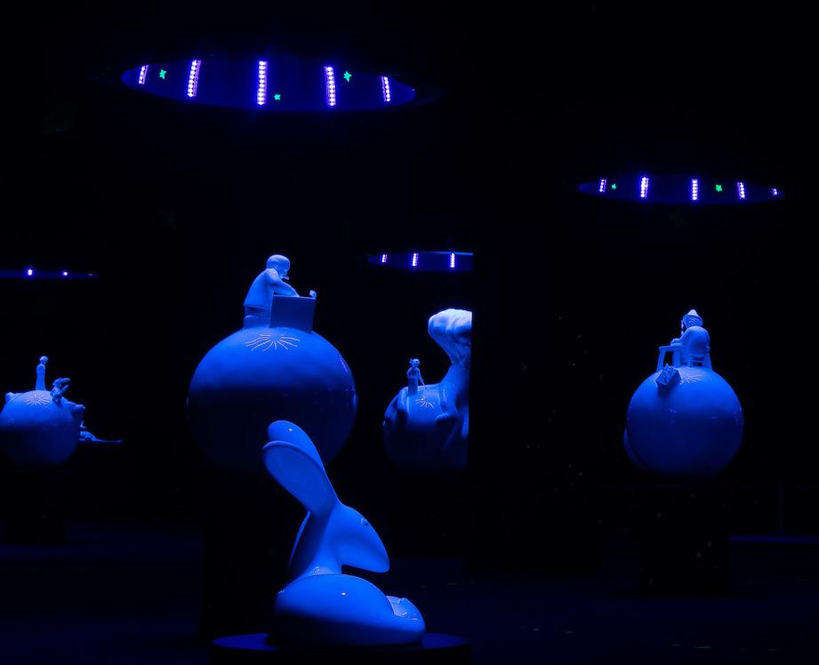 Expo Saitn ex décor dû à l'artiste Arnaud Nazare-Aga