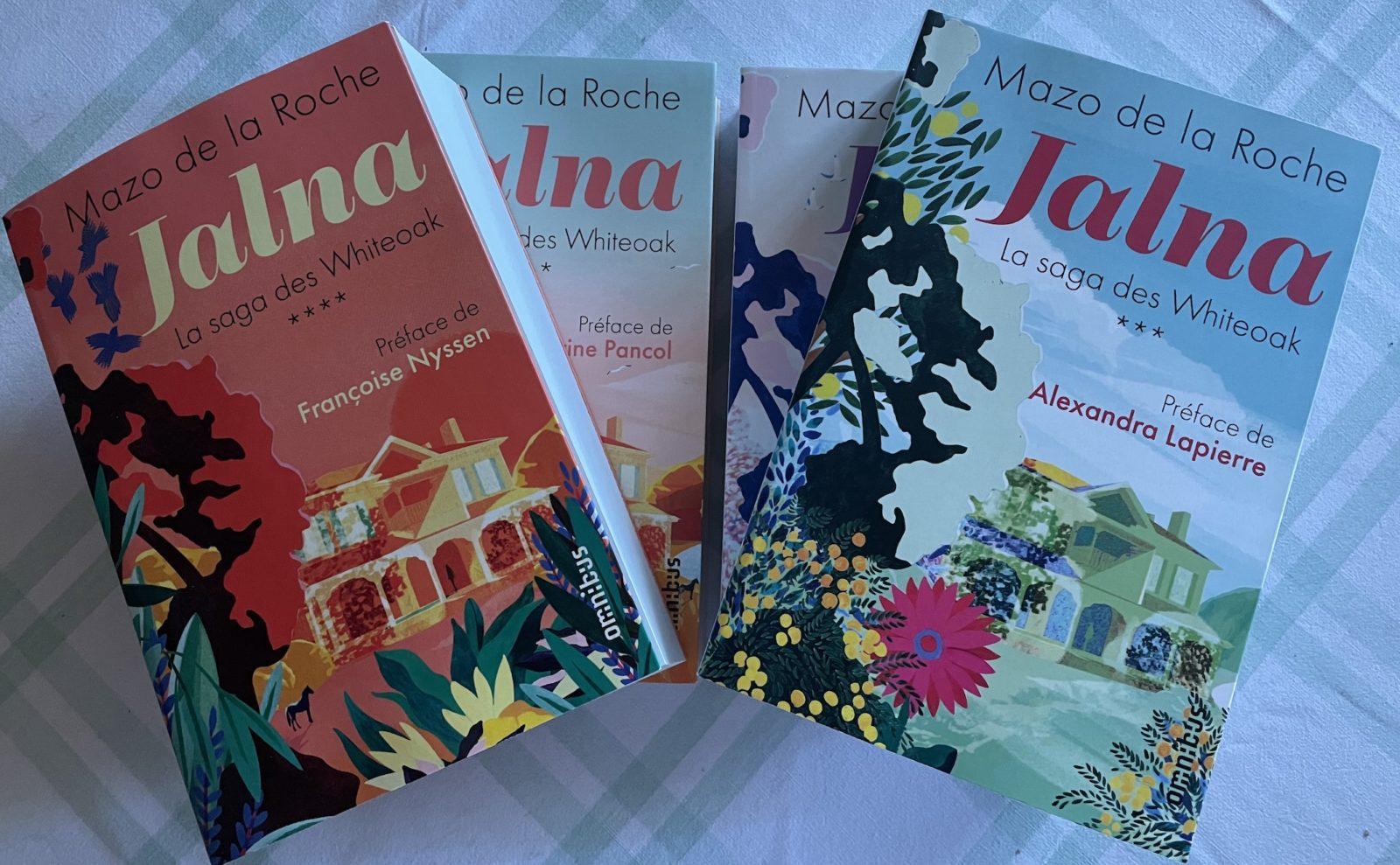 Jalna en 4 volumes,  Mazo de la Roche