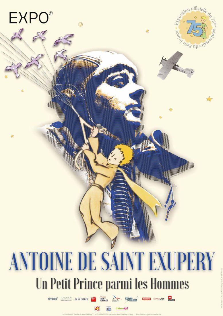 Affiche Exposition Saint Ex