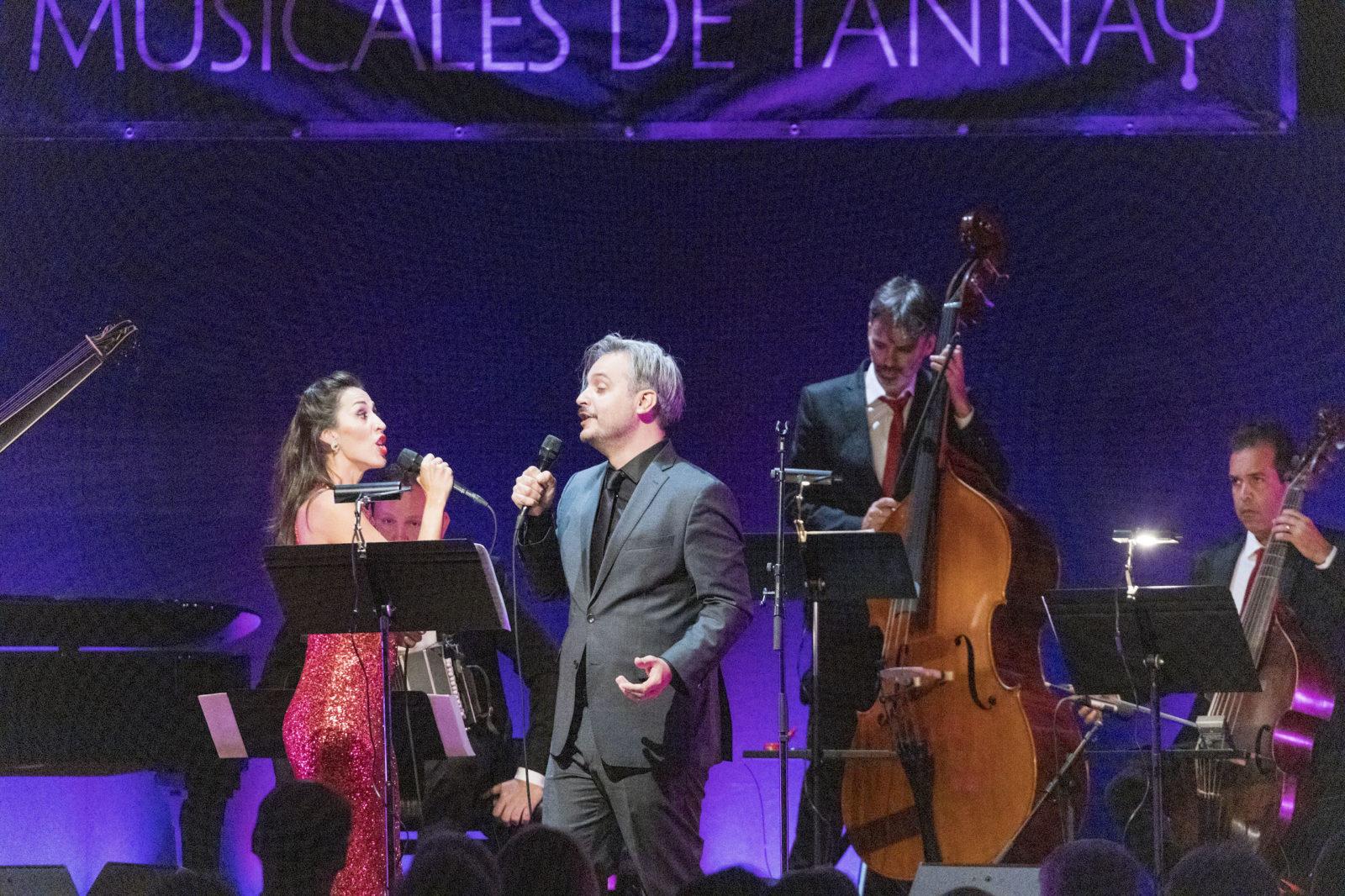 Mariana Flores et Nahuel Di Pierro