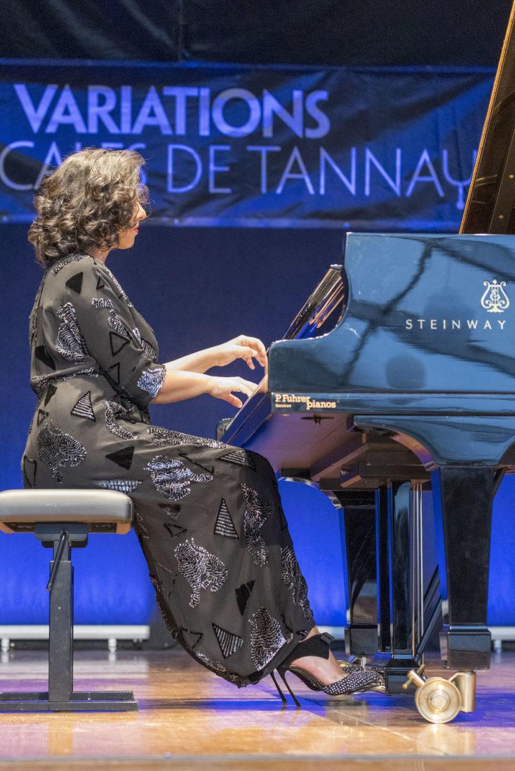 Récital Khatia Buniatishvili variations musicales de tannay 2021