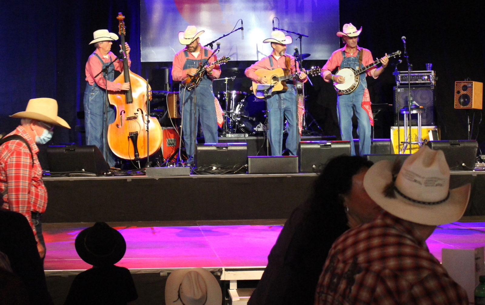 Country Night Gstaad 2021- scène concert