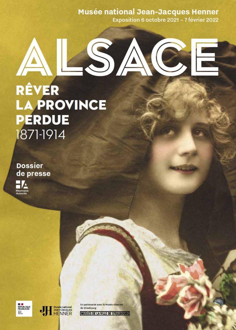 Affiche Alsace rêver la province perdue