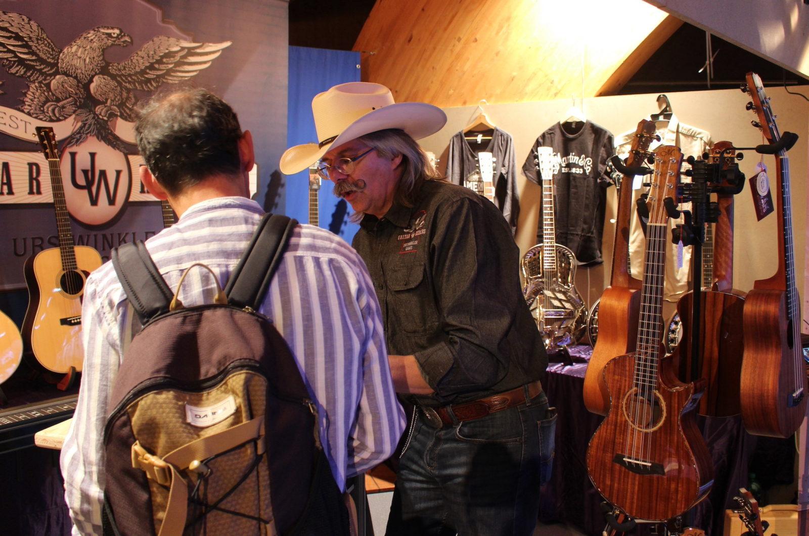 Country Night Gstaad 2021- vente de guitares