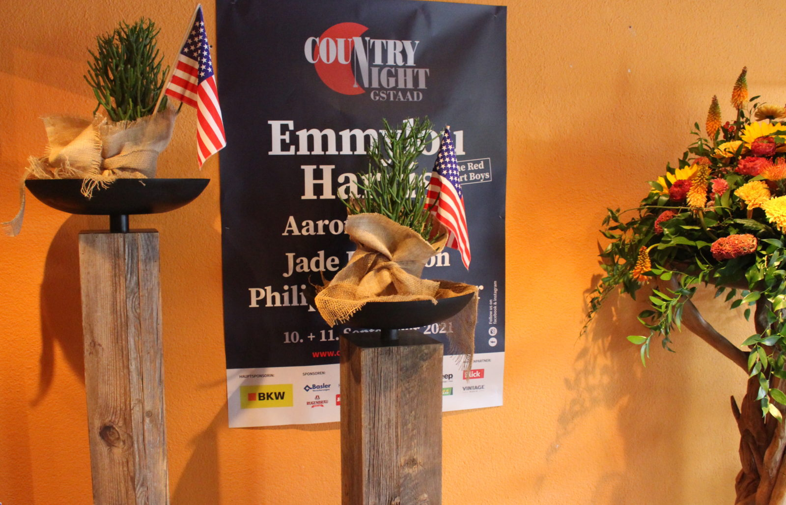 Country Night Gstaad 2021- affiche