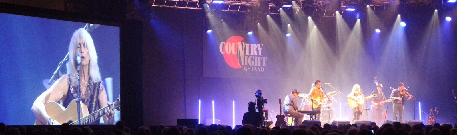 Country Night Gstaad  - concert Emmylou Harris - grande scène