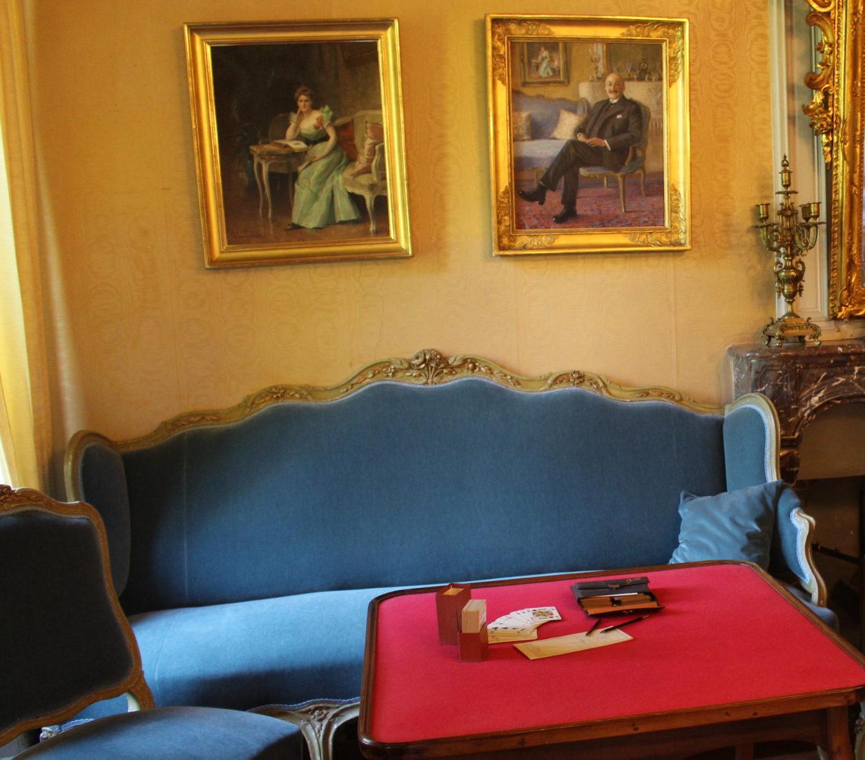 Domaine de La Doges salon