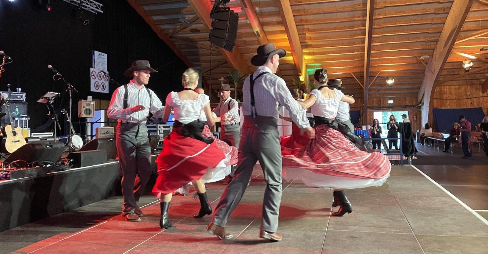 Country Night Gstaad 2021- groupe de danseurs