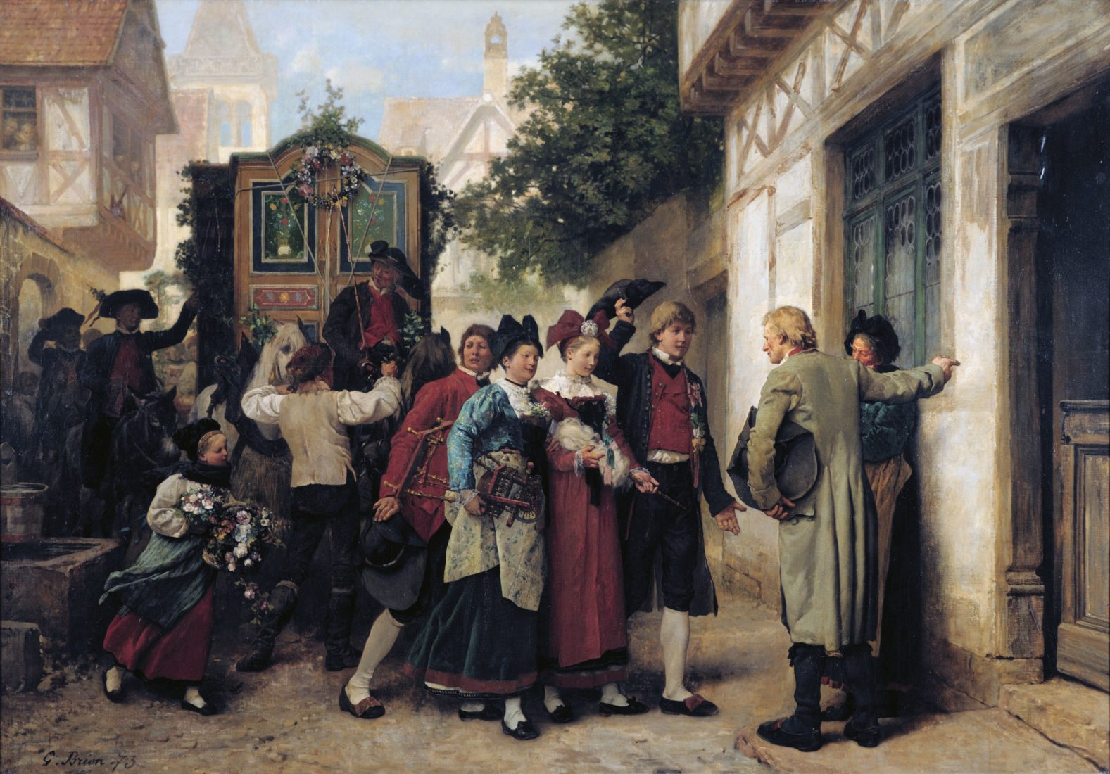 Auguste Brion, Cortège nuptial, 187