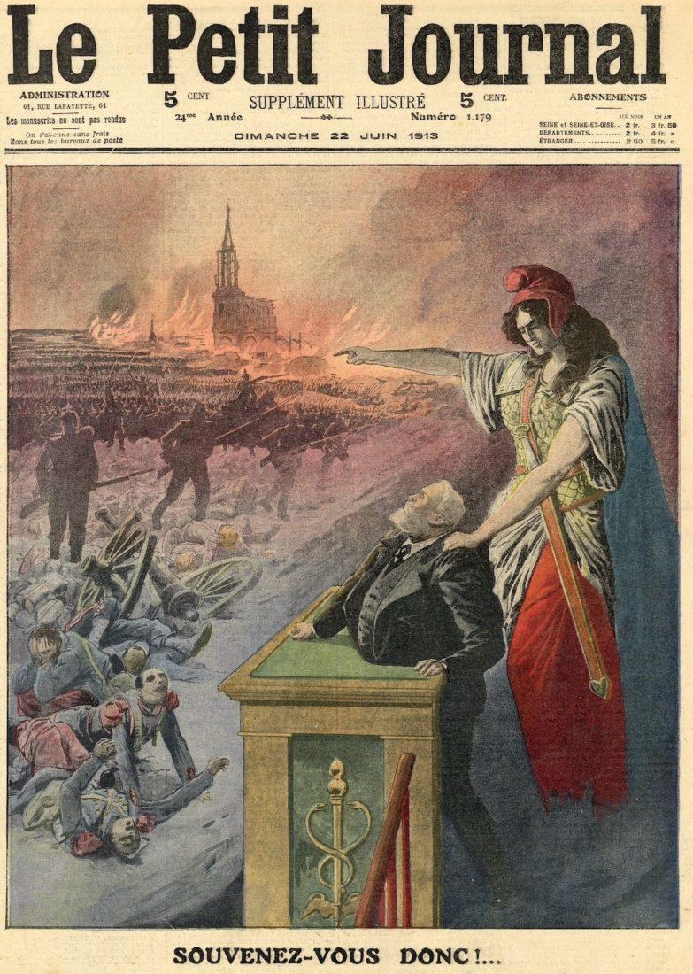 Souvenez-vous donc !, couverture du Petit Journal du 22 juin 1913
