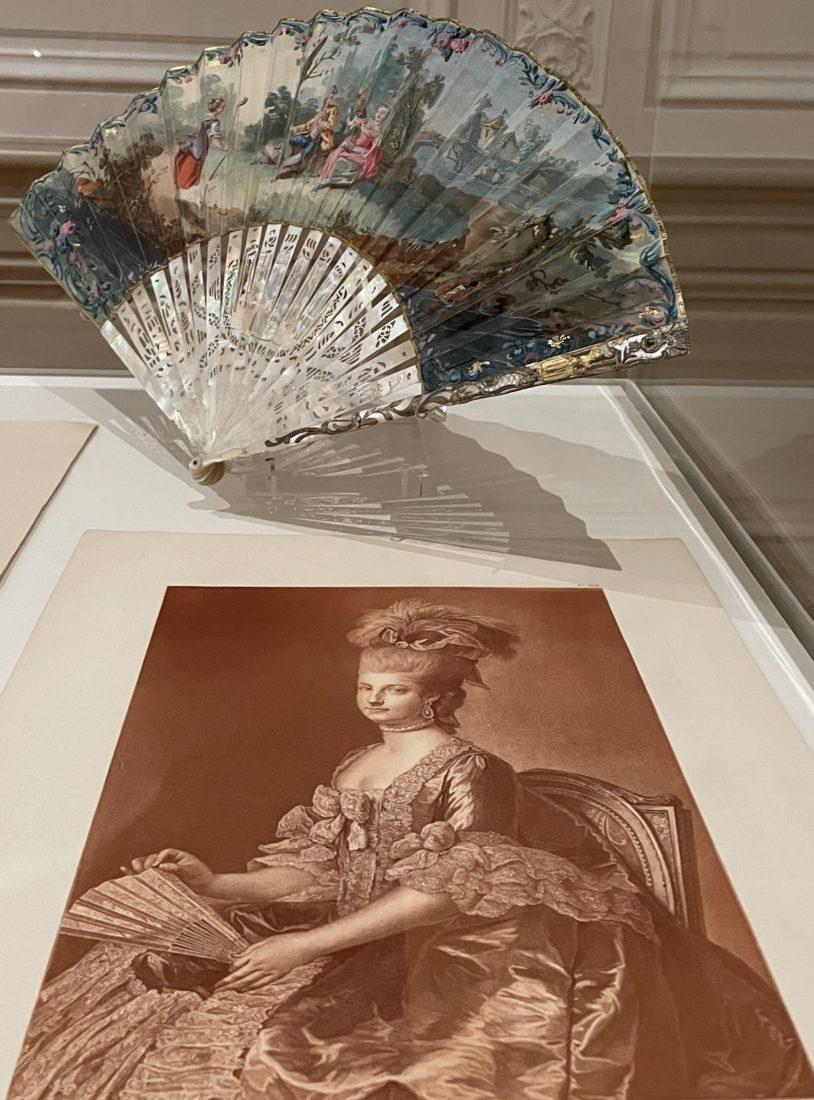Portrait de Marie-Christine, duchesse de Saxe-Teschen, 1782